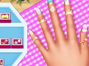 Play Princesses Pastel Outfits And Nails Game on FOG.COM