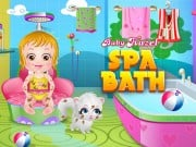 Play Baby Hazel Spa Bath Game on FOG.COM