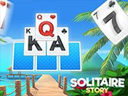 Play Solitaire Story - TriPeaks Game on FOG.COM