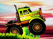 Play Crazy Monster Trucks Difference Game on FOG.COM