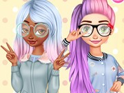 Play Princesses Kawaii Looks And Manicure Game on FOG.COM