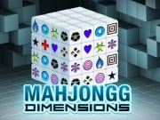 Play Mahjong Dimensions Game on FOG.COM