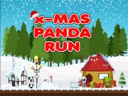 Play Xmas Panda Run Game on FOG.COM