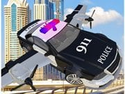 Play Police Flying Car Simulator Game on FOG.COM