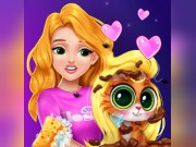 Play Blonde Princess Kitty Rescue Game on FOG.COM