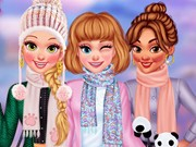 Play My Kawaii Winter Scarf Game on FOG.COM