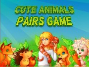 Cute Animals Pairs Game