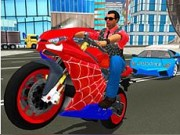 Hero Stunt Spider Bike Simulator
