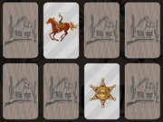 Play Wild Wild West Memory Game on FOG.COM