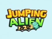 Play Jumping Alien 1.2.3 Game on FOG.COM