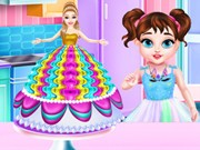 Play Baby Taylor Barbie Princess Cake Cooking Game on FOG.COM