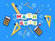 Play Math Quiz Game Game on FOG.COM
