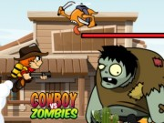 Play Cowboy VS Zombie Attack Game on FOG.COM