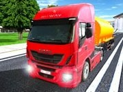 Play City Driving Truck Simulator 3D Game on FOG.COM