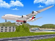 Play Airplane Fly 3D Flight Plane Game on FOG.COM