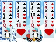 Play Penguin Solitaire Game on FOG.COM