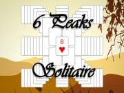 Play 6 Peaks Solitaire Game on FOG.COM