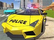 Police Drift Car