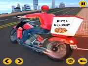 Play Big Pizza Delivery Boy Simulator Game Game on FOG.COM