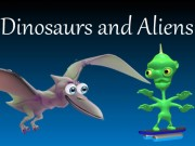 Play Dinosaurs and Aliens Game on FOG.COM