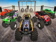 Play Monster Truck Impossible Stunt Track Game on FOG.COM