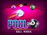 Play Pool 8 Ball Mania Game on FOG.COM