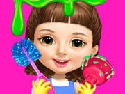 Play Sweet Baby Girl Cleanup Messy House Game on FOG.COM