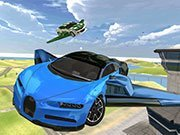 Play Ultimate Flying Car 3d Game on FOG.COM