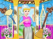 Play Cinderella House Cleaning Challenge Game on FOG.COM