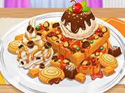 Play Yummy Waffle Ice Cream Game on FOG.COM