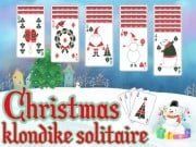 Play Christmas Klondike Solitaire Game on FOG.COM