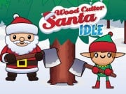 Play Wood Cutter Santa Idle Game on FOG.COM