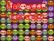 Play Halloween Blocks Collaspse Delux Game on FOG.COM