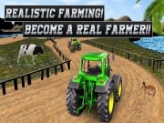 Real Tractor Farming Simulator : Heavy Duty Tractor