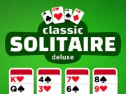 Play Classic Solitaire Deluxe Game on FOG.COM