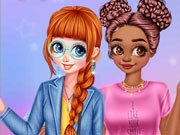 Play Colorful Fashionistas Game on FOG.COM