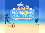 Christmas in July Mahjong Dimensions