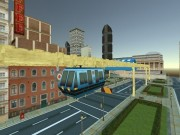 Play Sky Train Simulator : Elevated Train Driving Game Game on FOG.COM