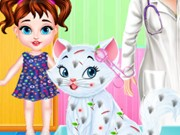 Play Baby Taylor Kitty Caring Day Game on FOG.COM