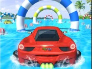 Water Car Stunt Racing