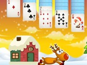 Play Santa Solitaire Game on FOG.COM