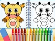 Lovely Pets Coloring Pages