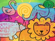 Play Little Animals Coloring Game on FOG.COM
