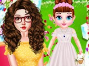 Play Baby Taylor Flower Girl Game on FOG.COM