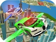Play Flying Police Car Simulator Game on FOG.COM