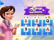 Play Kings And Queens Solitaire Tripeaks Game on FOG.COM