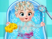 Princess Elsa Baby Born
