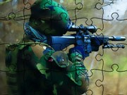 Soldiers In Action Puzzle