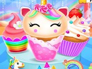 Play Unicorn Mermaid Cupcake Cooking Design Game on FOG.COM