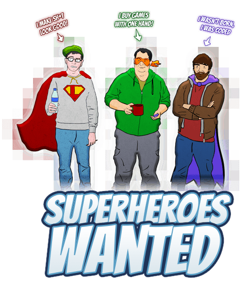 Superheroes Wanted!